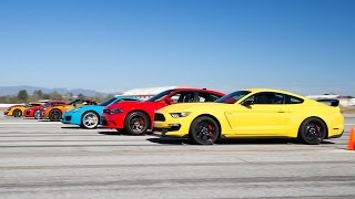 World's Greatest Drag Race 6!(As part of Motor Trend's annual Best Driver's Car competition powered by Mothers, we line up the contenders on an airstrip and bask in the glory of horsepower, ..., 2016-09-23T10:30:01.000Z)
