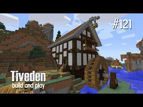Minecraft Build & Play - Tiveden #121 - Water Mill / Flour Mill