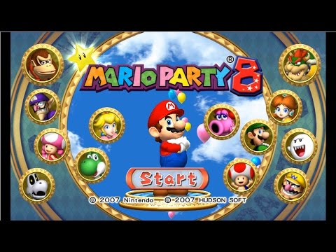 Mario Party 8 - Complete Longplay - All Boards | Party Tent