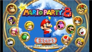 Mario Party 8 - Complete Longplay - All Boards | Party Tent Walkthrough (FULL GAME)