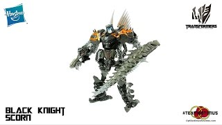 Video Review of the Transformers: The Lost Age Black Knight Scorn