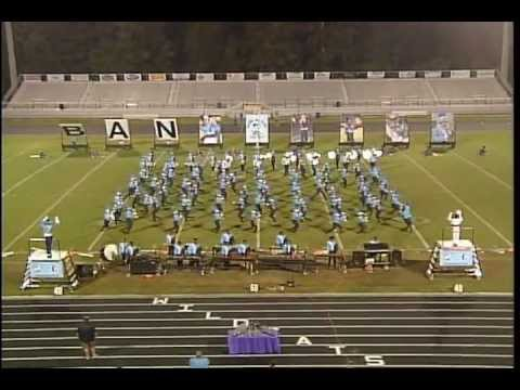 2013 Colleton County High School Band of Blue at SCBDA Lowerstate