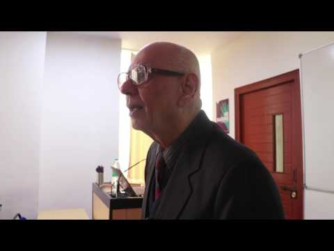 Dr. Mukul G. Asher - Professorial Fellow talking on PPP (Part-2)