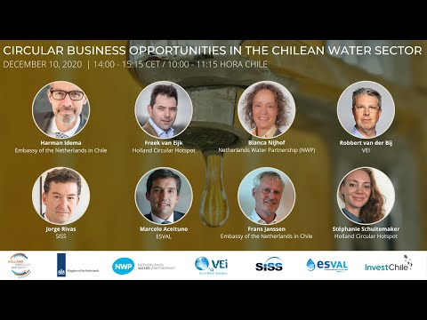 Webinar Business Opportunities in the Chilean Water Sector