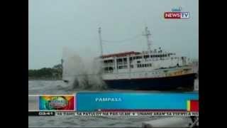 BP: Pampasaherong Barko, Sumadsad Sa Dalampasigan