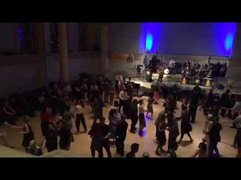 George Gee Swing Orchestra Set #2 at Dawn Hampton Memorial Dance 2/11/17