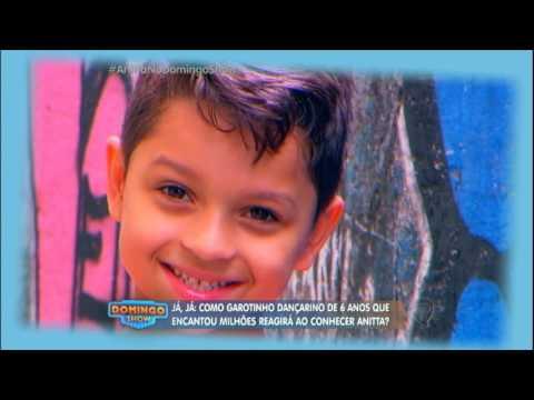 Anitta encontra menino de 6 anos que encantou internautas dançando Show das Poderosas