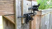 GH Gate Products Gate Latch Pull - YouTube