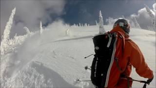 Ski Touring at Ymir Backcountry Lodge