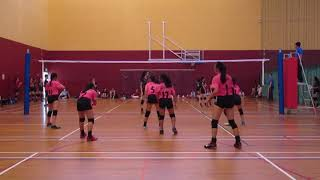 2018 C Div WZ Semi Final Girls HY vs BP 2-0 set 1.
