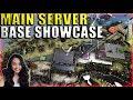 Main Stronghold Server Base Tour (Ragnarok) - Mega Tribe Official PvP - Ark Survival Evolved