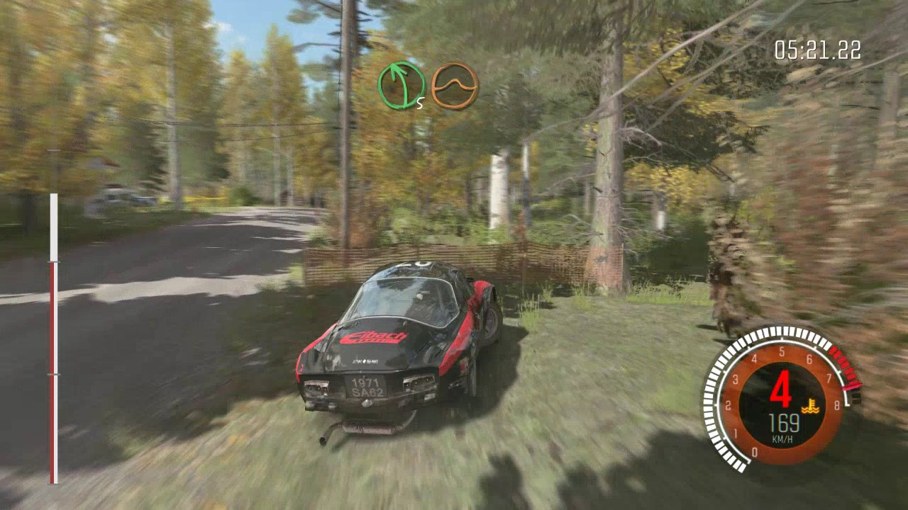 DiRT Rally Jamsa Finland Map Renault Alphine Car Gameplay PC 4