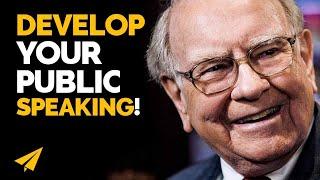 """GET Comfortable With PUBLIC SPEAKING!"" - Warren Buffett - #Entspresso"