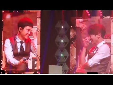 180603 Kyungsoo Voice Cracked and Chanyeol Reaction Sing For You