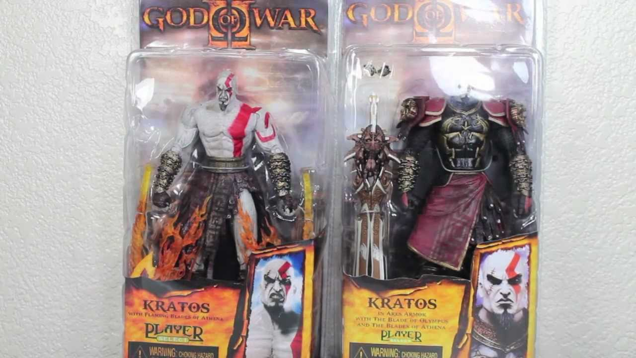 God Of War 2 Kratos In Ares Armor Kratos With Flaming