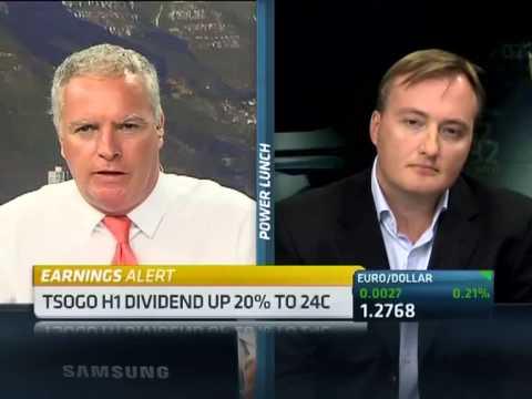 Tsogo Sun H1 results with CEO Marcel Von Aulock