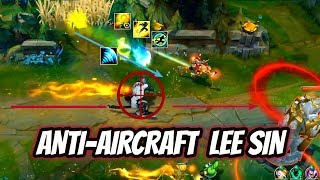CHINESE LEE SIN DRAWS THE END OF S9 - INSANE MECHANICS IN URF - League of Legends