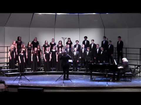 """Laetatus Sum"" - CSHS Mixed Varsity Choir UIL 04/19/2018"