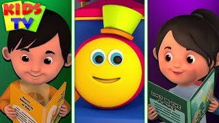 Book Friends Forever | Bob The Train Shorts | Cartoon Shows for Babies - Kids TV