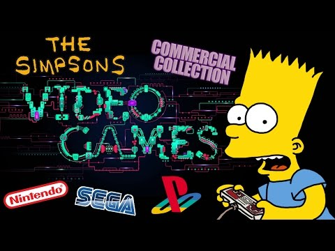 The Simpsons - Video Games Commercial Collection (1990 - 2014)