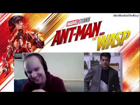 Ant-Man and the Wasp's Divian Ladwa: Quick-fire Interview