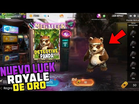 "*Ya salió* NUEVO LUCK ROYALE DE ORO ""DETECTIVE PANDA"" EN FREE FIRE (FILTRACION) from YouTube · Duration:  3 minutes 30 seconds"