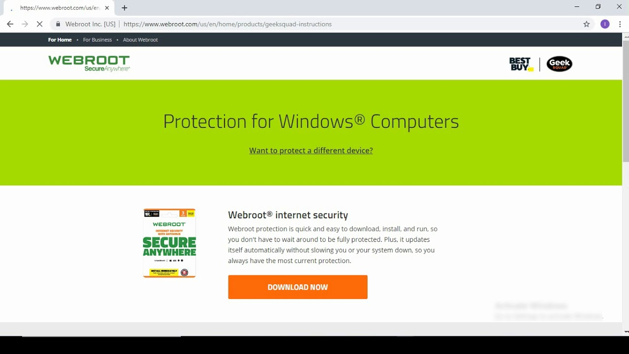 How to download, install and Activate Webroot Antivirus using Webroot.com/Safe.
