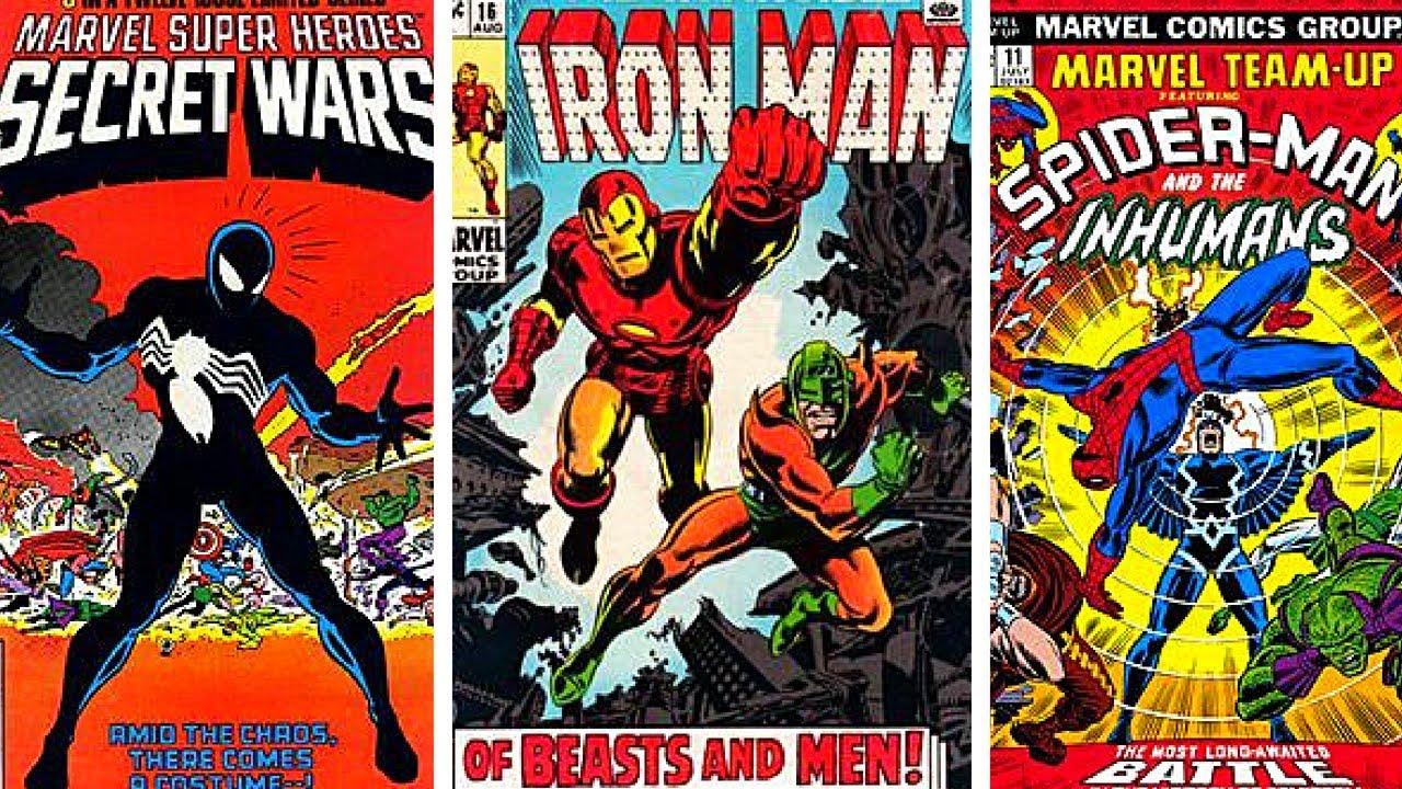 Marvel Vs DC Comic Book Covers