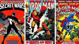 Marvel vs DC Comic Book Covers - EPIC Old Marvel Comics (Part 2)
