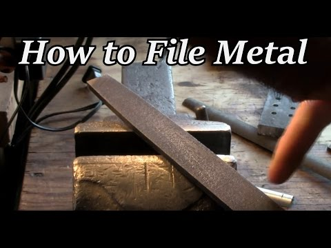 HTO - How to File Metal Properly