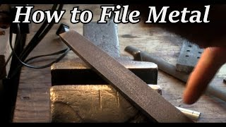 How to File Meтal | Iron Wolf Industrial