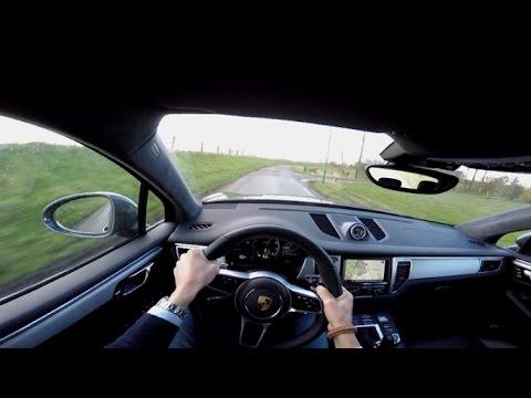 POV Drive Porsche Macan Turbo LOUD