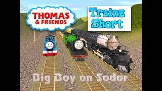 Thomas & Friends - Trainz Short - Big Boy on Sodor - Trainz: A New Era Video