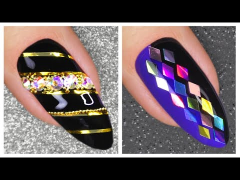 nail art designs 2020  new nails art compilation  youtube