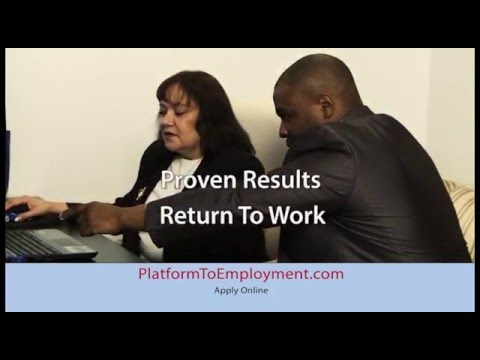 Platform to Employment - Putting the unemployed back to work