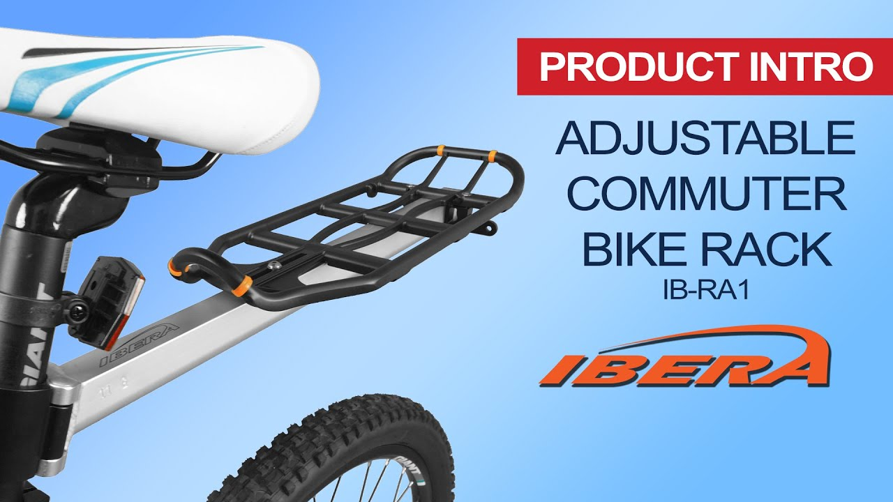 Ibera Bicycle Seatpost Mounted Commuter Carrier Ib Ra1 Youtube Copyright 2006 Bicycledesignercom
