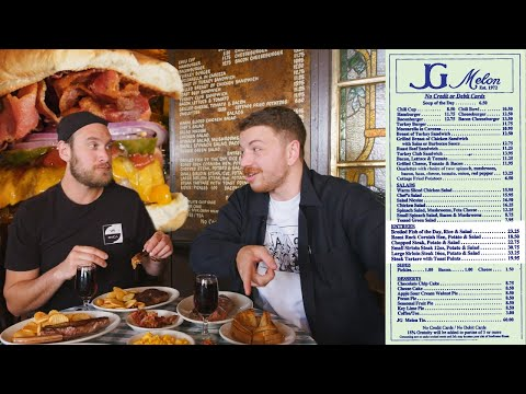 Trying Everything on the Menu at NYC's Most Famous Burger Restaurant (Ft Brad Leone)