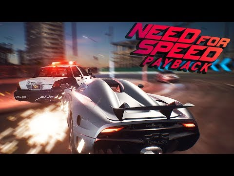 POLICE CHASE! FAST AND CRAZY RACE CARS! - Need For Speed Payback Gameplay - NFS Payback