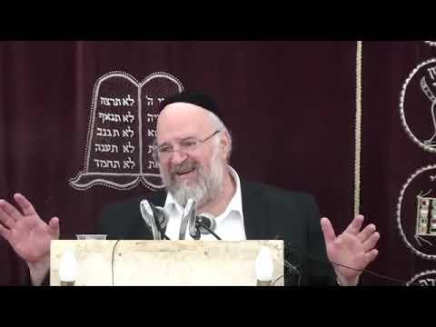 הרב ברוך רוזנבלום - פרשת בחוקותי ה׳תשע״ט