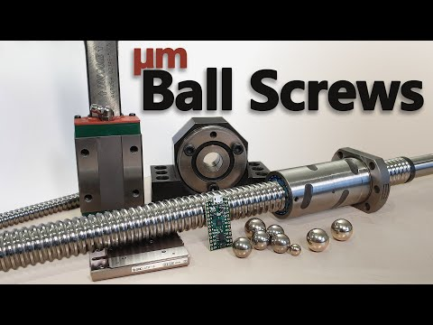 Chasing Micrometres With The Best Ball Screws