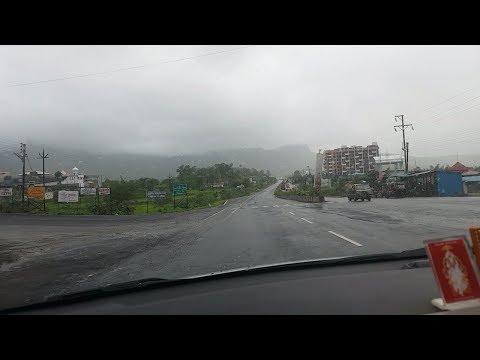 Monsoon road trip 2017,Maharashtra,Nasik-trimbak highway.