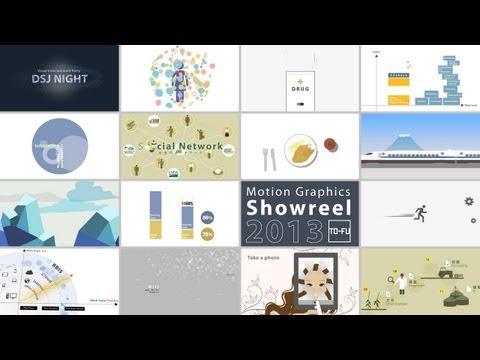 Motion Graphics Showreel 2013