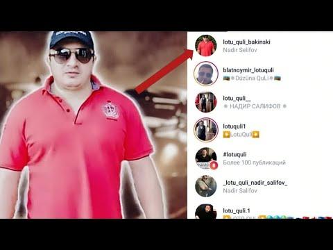 Инстаграм Акаунт Надира Салифова!!!