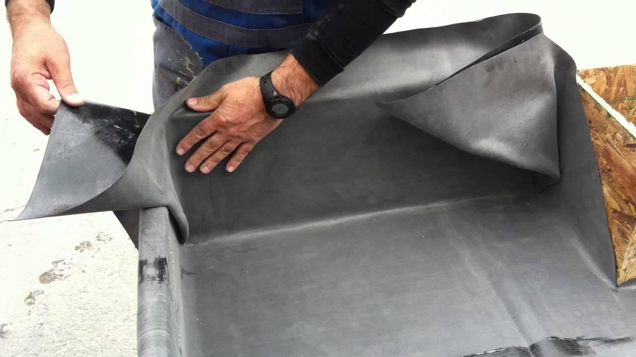 Impermeabilizar una terraza con l mina epdm maqueta del for Lona para estanque precio