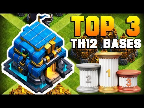 TOP 3 BEST TH12 Farming Base 2018 | CoC NEW Town Hall 12 Defense Strategy | Clash Of Clans