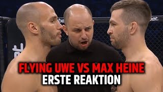 WOW!! ARZT BRICHT FLYING UWE VS MAX HEINE AB!! GMC ERSTE REAKTION