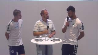 Druckhelden VIP-Talk nach dem Heimspiel gegen Arminia Bielefeld
