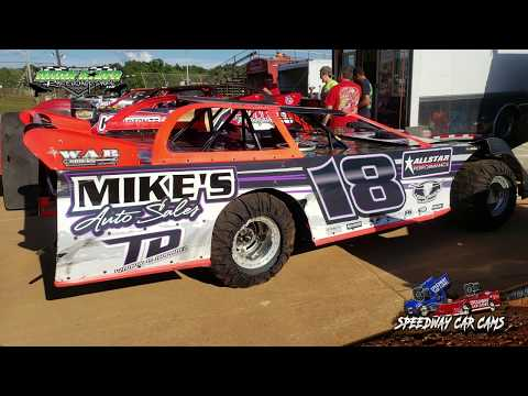 #18 Matt Odeneal - 2 Barrel - 9-2-18 Duck River Raceway Park - In Car Camera