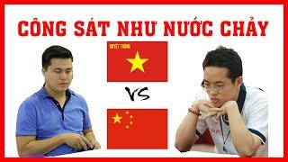 Ván CỜ TƯỚNG công sát như nước chảy kỳ thủ số 1 (VN) Lại Lý Huynh vs Uông Dương (CN)