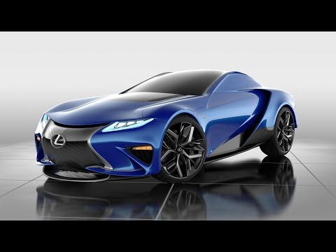 design study future car of lexus by yang sun named named as lf la concept